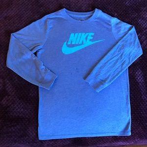 Nike Tee Athletic Cut Long Sleeve